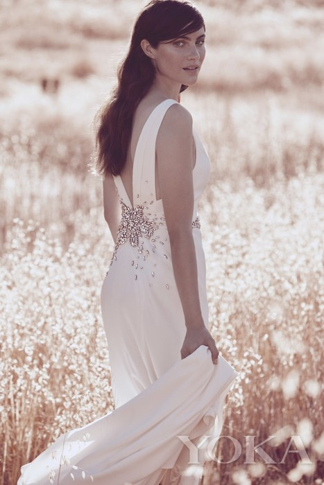 Jenny Packham for David's Bridal 婚纱画册