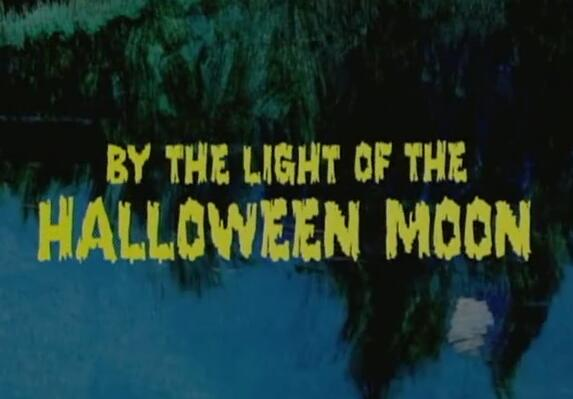 by the light of the Halloween Moon英文绘本